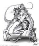 Creature Design: Concept 7 - Dino Predator