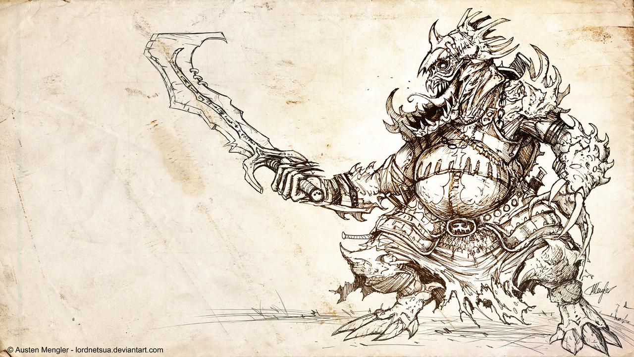 Krokk Underlord by LordNetsua