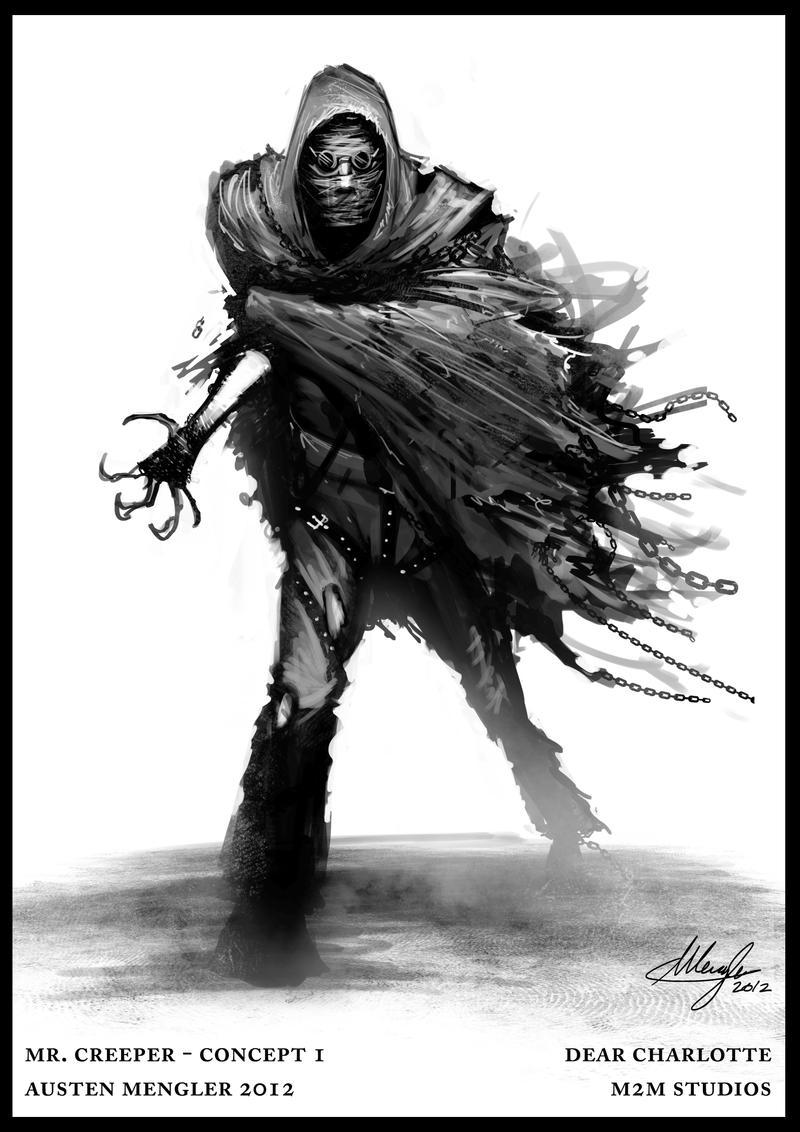 Mr. Creeper - concept 1 by LordNetsua