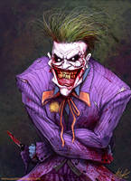THE JOKER by AustenMengler