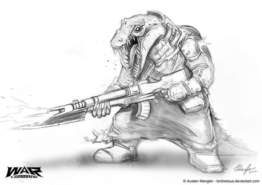 Gharrana Soldier 1 by AustenMengler