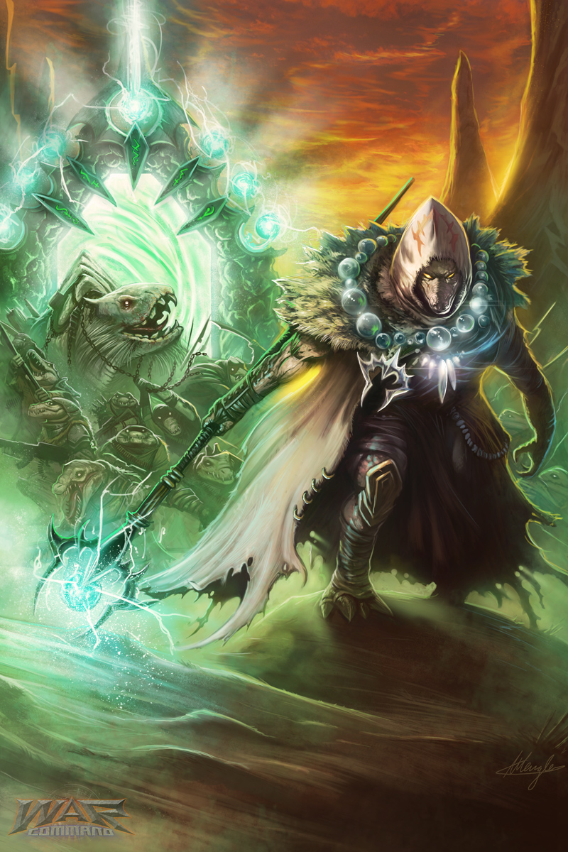 War Command - The Gharrana by LordNetsua