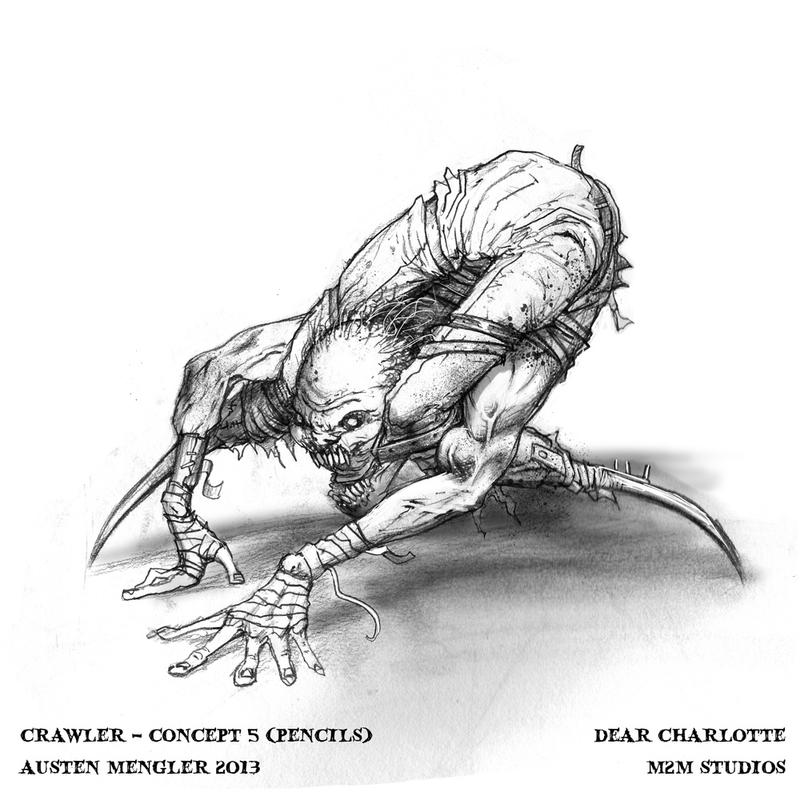 Crawler - concept 5 by LordNetsua