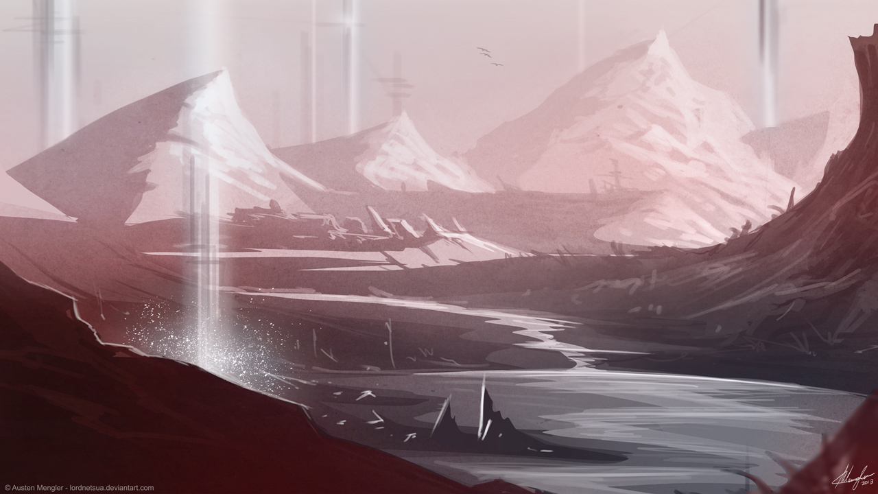 Ice Valley by LordNetsua