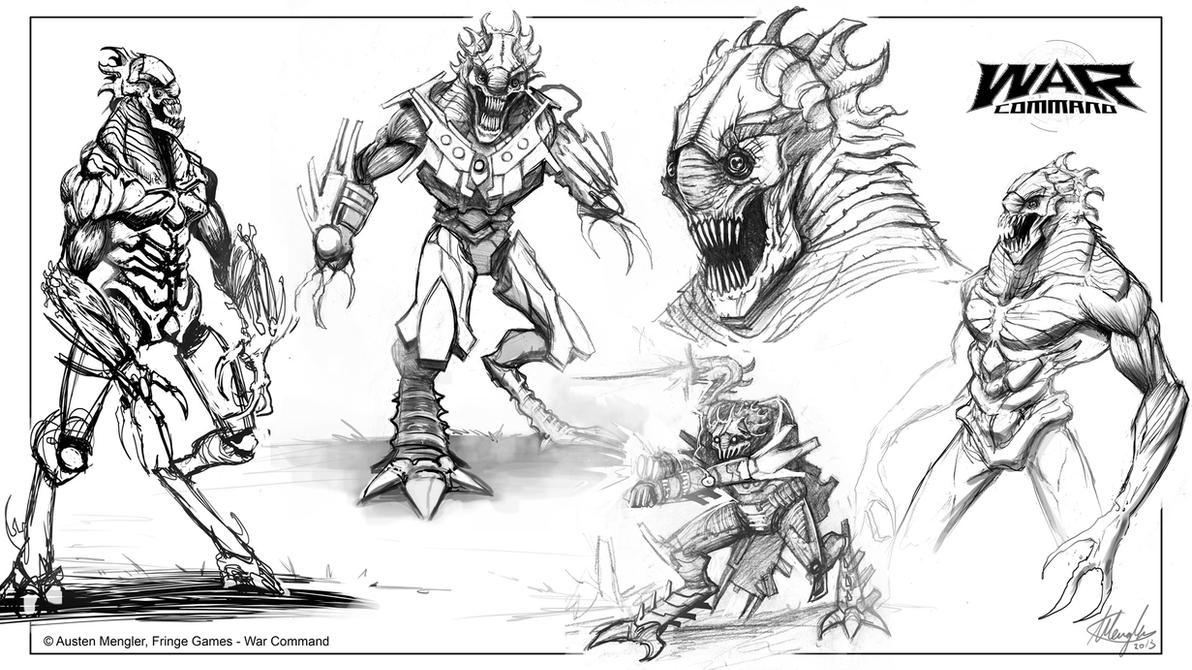Enhanced Delylian Warrior - Concepts by LordNetsua