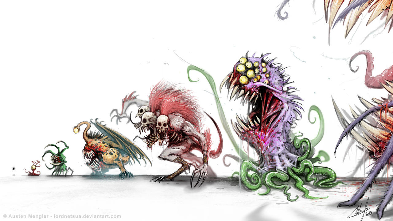 MONSTER FOOD CHAIN by LordNetsua