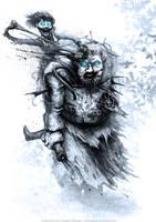 Bran Stark and Hodor by AustenMengler