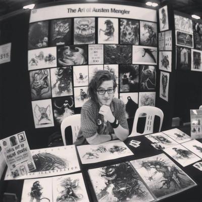 The Art of Austen Mengler - Supanova 2013 by LordNetsua