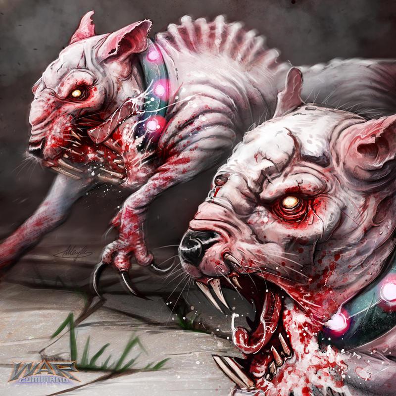 Degenerate Mammals by AustenMengler