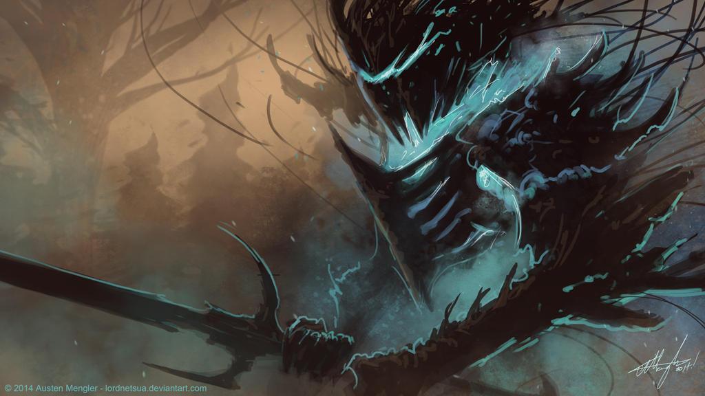 Wooden Knight by LordNetsua
