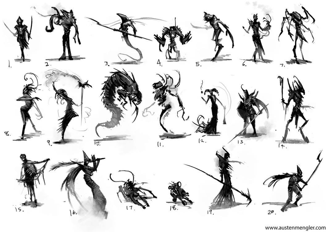 Thumbnails 01 by AustenMengler