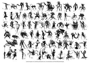 70 Thumbnail Sketches