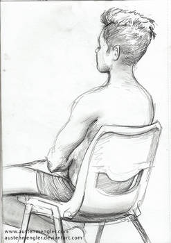 Life Drawing Session #3 - 07