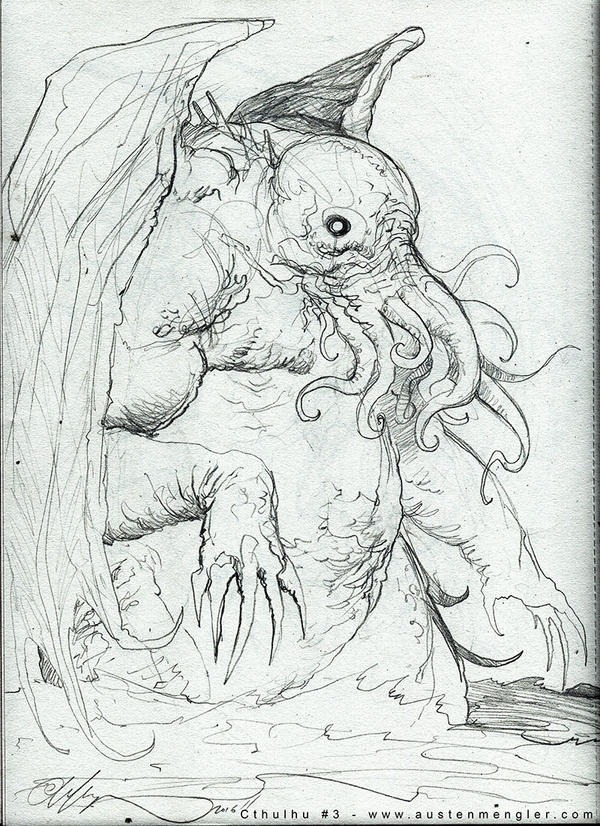 Cthulhu - Concept 03