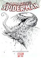 VENOM - Sketch Cover by AustenMengler