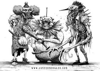 KILLER KLOWNS by AustenMengler