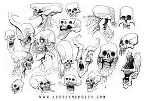 SKULLS by AustenMengler