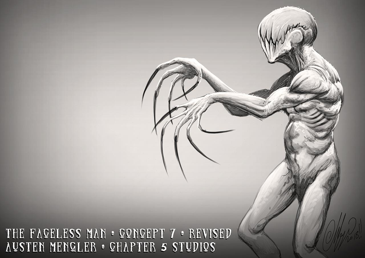 The Faceless Man - Concept 7