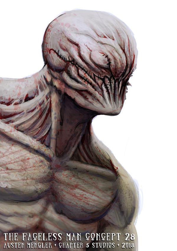 The Faceless Man - Concept 28