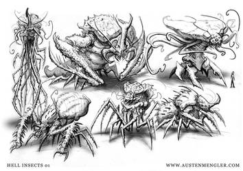 Hell Insects 01 by AustenMengler