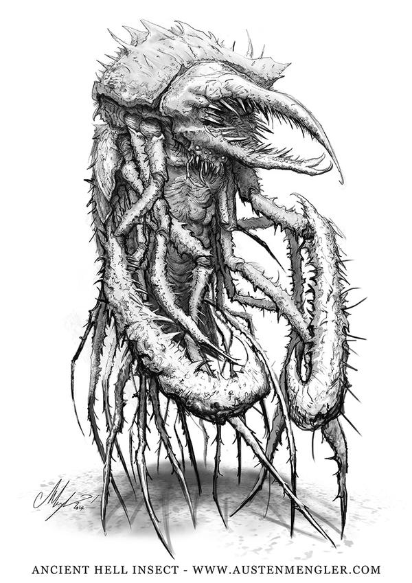 Ancient Hell Insect