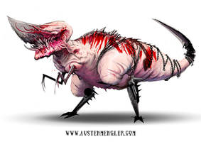 Knifeasaurus Rex by AustenMengler