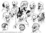 ZOMBIES by AustenMengler