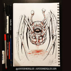 The Thing Thing - Inktober 15 2018 by AustenMengler