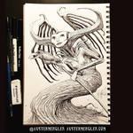 Maleficent - Inktober 17 2018