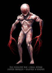 The Faceless Man - Final Creature Design