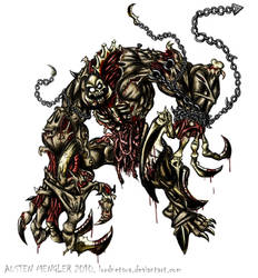 Big Zombie Monster by AustenMengler