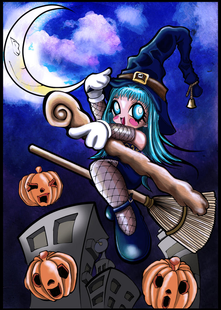 Happy Halloween by elisiozero