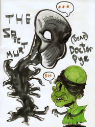 Spectre and Pye Caricature by SeanPatrickKelly