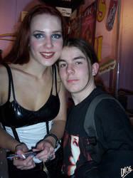 Simone Simons and me by DarkMoi