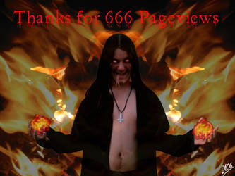 Thanks For 666 Pageviews by DarkMoi