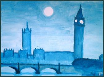London at Midnight by DarkMoi