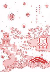 Chinoiserie Christmas 2 by cecilliahidayat