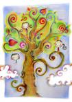 three on tree