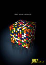rubik's cube by cecilliahidayat