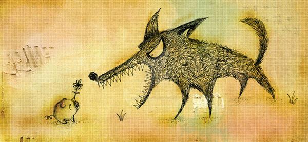 big bad wolf by cecilliahidayat