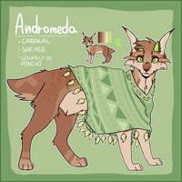 ANDROMEDA ref sheet by m00nka