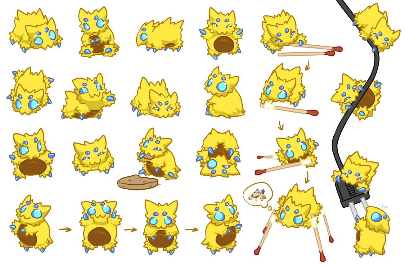 Joltik Is Pretty Cute Pokemon