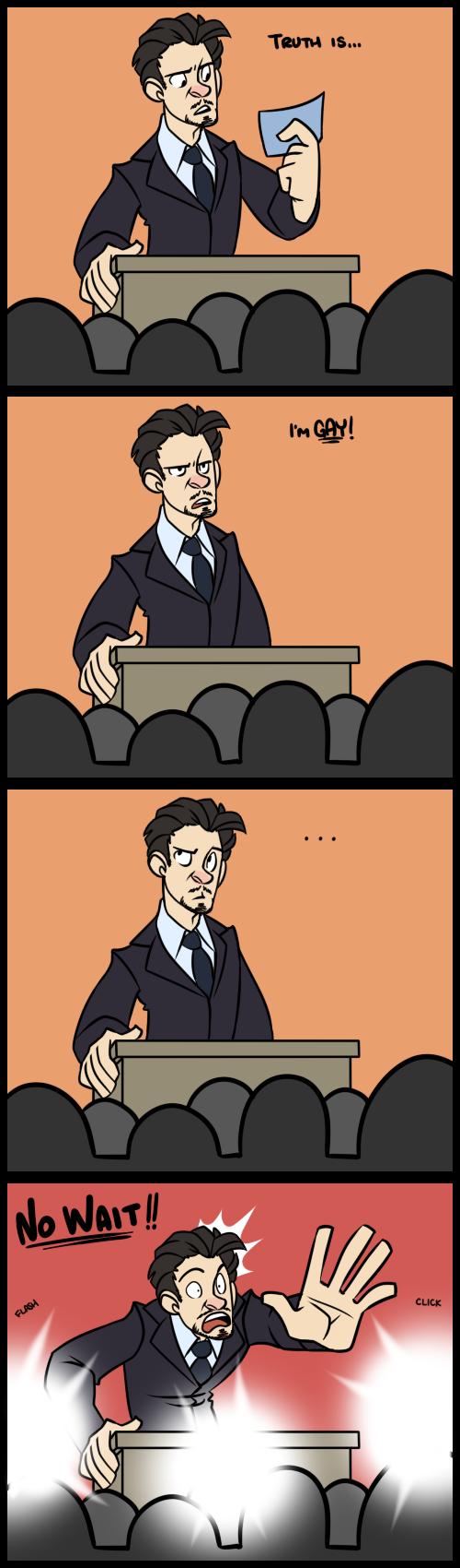 IronMan - Alternate Ending by cartoonjunkie on DeviantArt