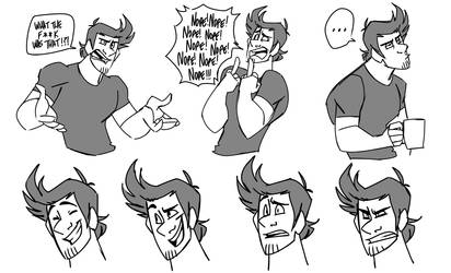 Markiplier - CartoonCharacter Doodles