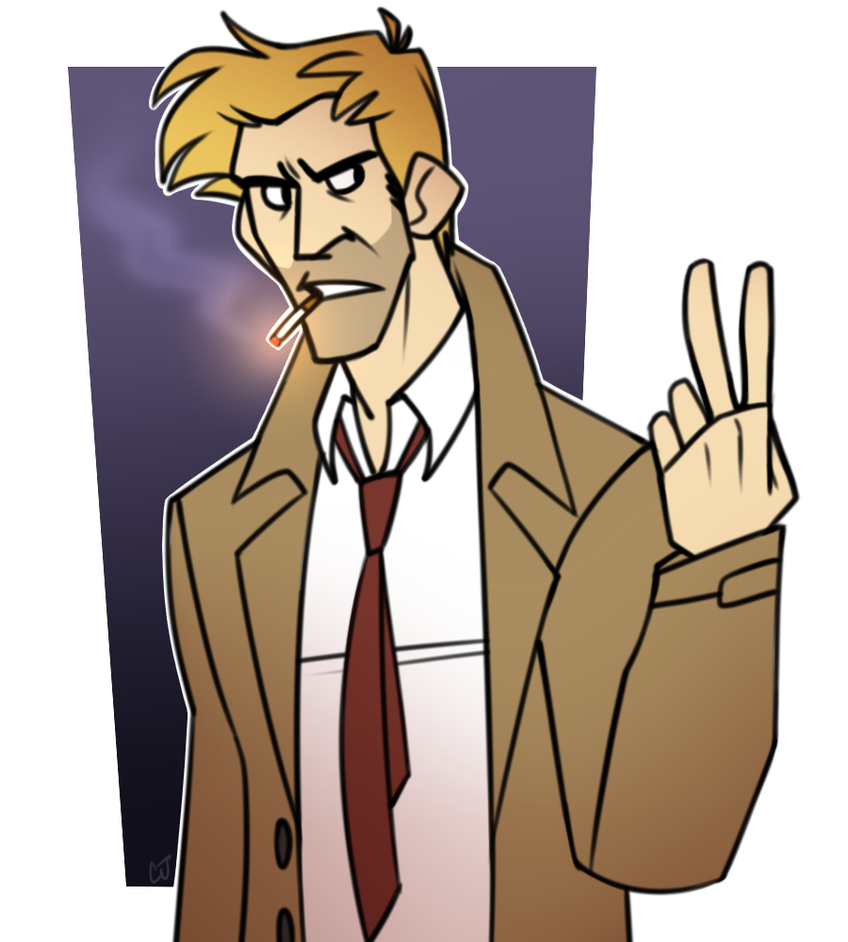 Constantine - Day 3 by cartoonjunkie