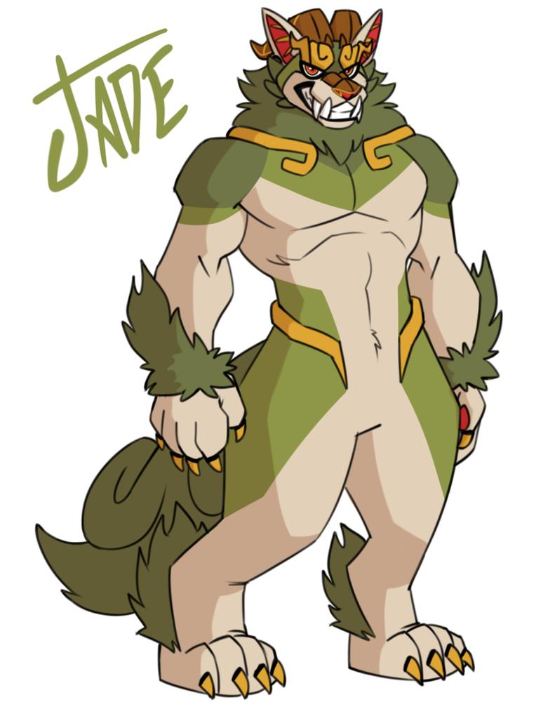 Jade by cartoonjunkie