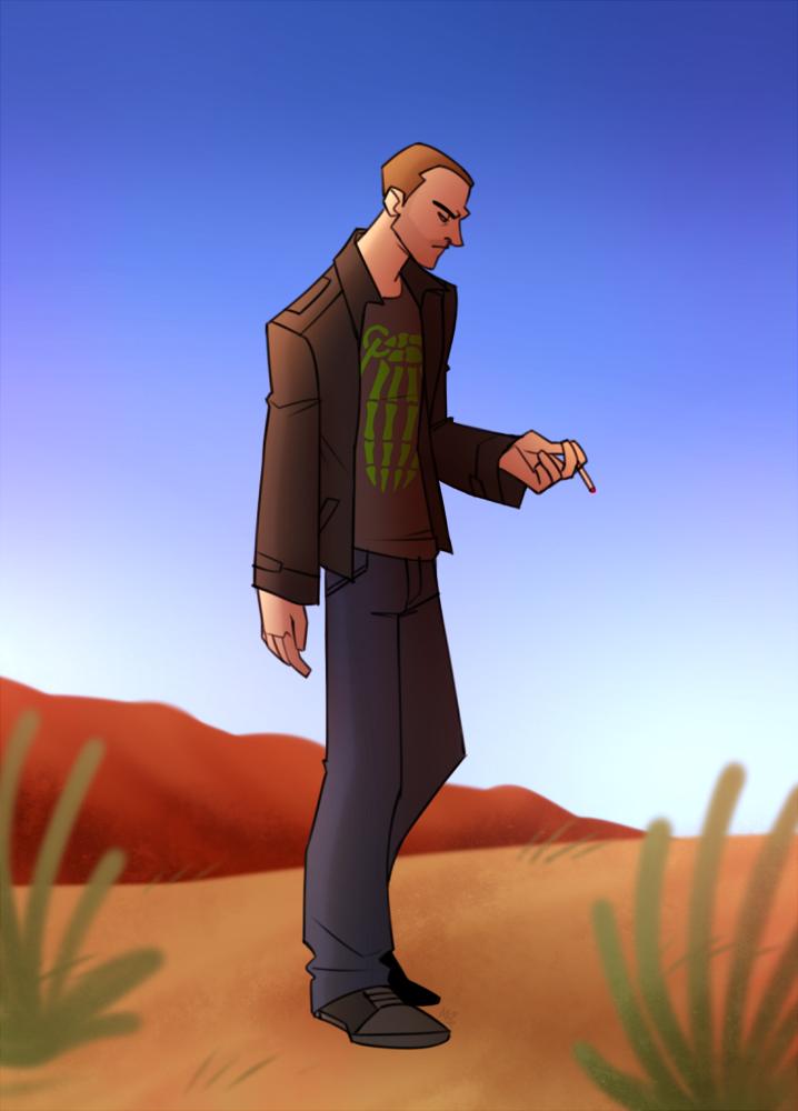 Jesse by cartoonjunkie