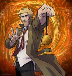 Constantine Hypno by cartoonjunkie