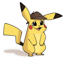 DetectivePikachu by cartoonjunkie