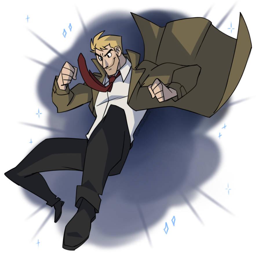Johnny the Hellblazer by cartoonjunkie